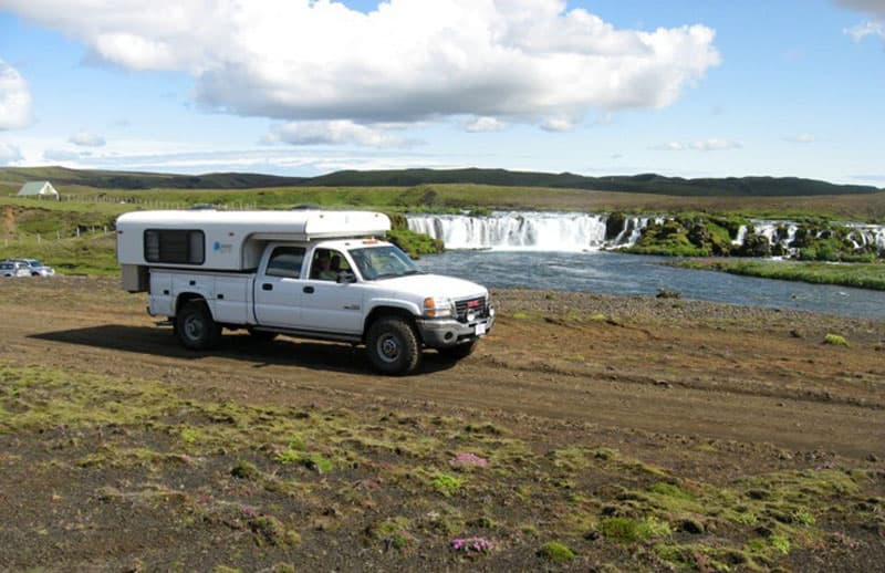 South Central Iceland Holmsarfoss