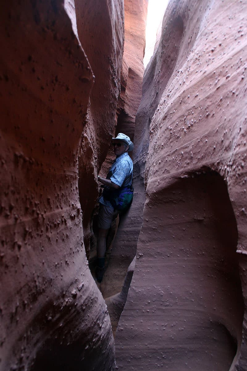 Spooky Slot Canyon in Utah
