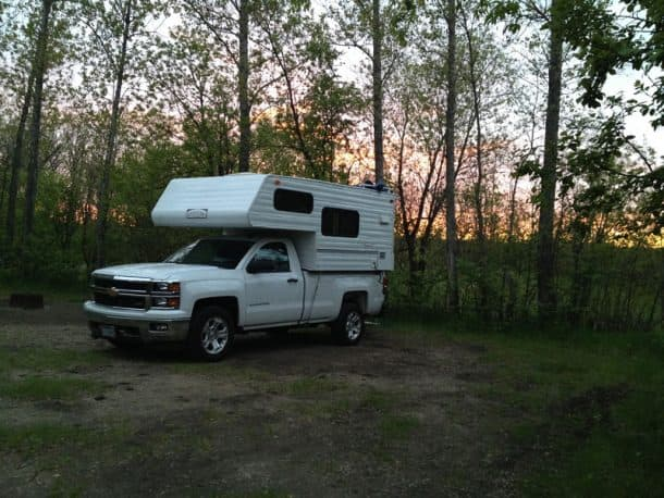 #226 - Carl Van WarmerdamSpruce Woods Provincial Park, Manitoba, Canada2014 Chevy Silverado2015 Pastime 800 FDSCamera Used - iPhone 4This was taken along the way from Portland, Oregon to Providence, Rhode Island traveling the Trans-Canadian Highway.