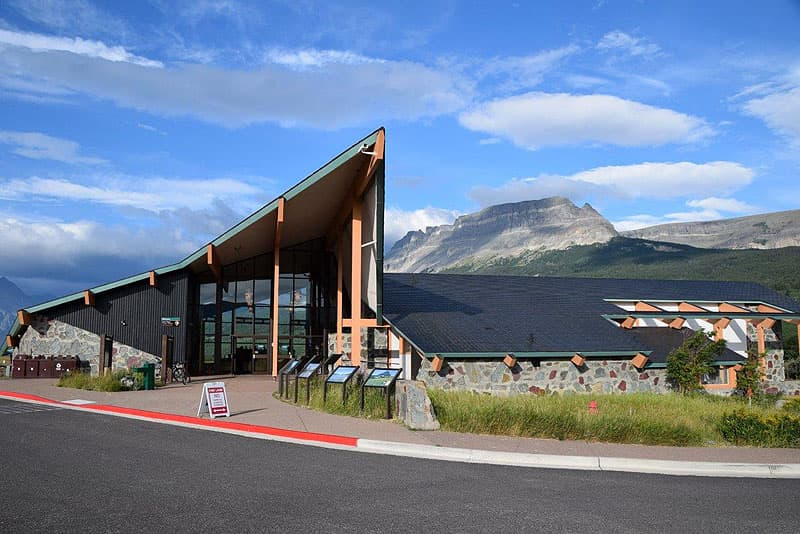 St. Mary Glacier National Park Visitors Center