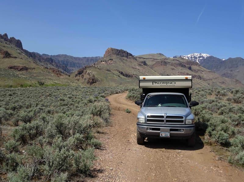 West side of Steen's Mountain, Oregon