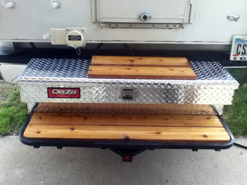 Toolbox step system