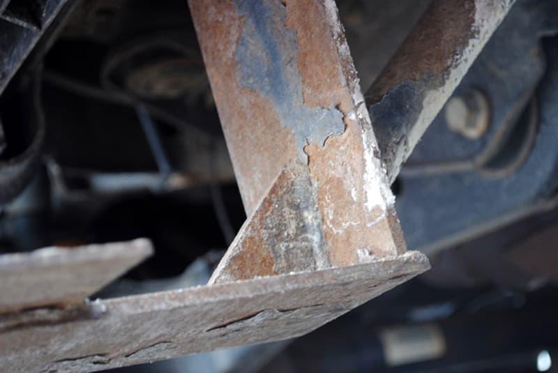 Steel from used bin