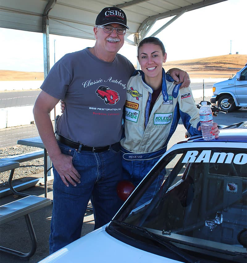 Steve Torp And Daughter Classic Autobody
