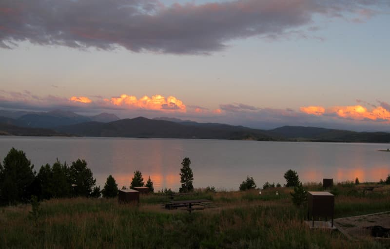 Stillwater, Colorado sunset