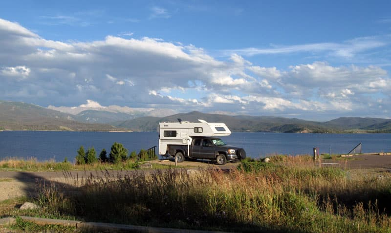 Stillwater Forest Service Campground in Colorado