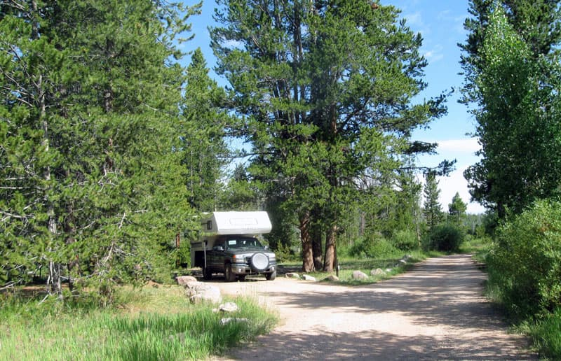 Stillwater Utah National Forest Service Campground