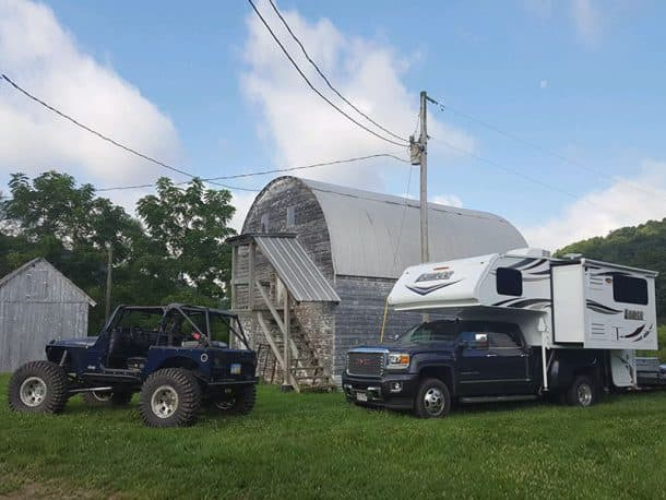 #235 - Shelley McQuillinStillwell, Ohio2016 GMC 35002018 Lance 975Camera Used - Samsung Galaxy S6My husband and I love to travel to different areas with his Jeep.  Our new truck camper gives us much more freedom to travel to the out-of-the-way places and still have the comforts of home.  With the camper, we can hit the road right after work, park for the night, and hit the trails first thing in the morning.  More time on the trail makes us very happy.