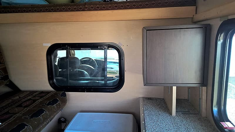 IKEA storage area added to Four Wheel Camper