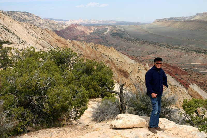 Strike Valley Overlook Trail, Waterpocket Fold