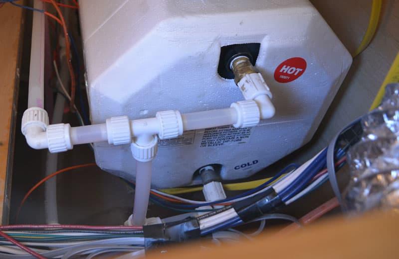 Suburban Water Heater Installation