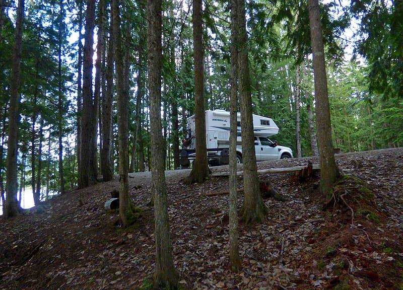 Sugar Lake camping