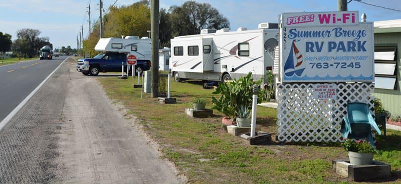 Summer Breeze RV Park, Okeechobee, Florida