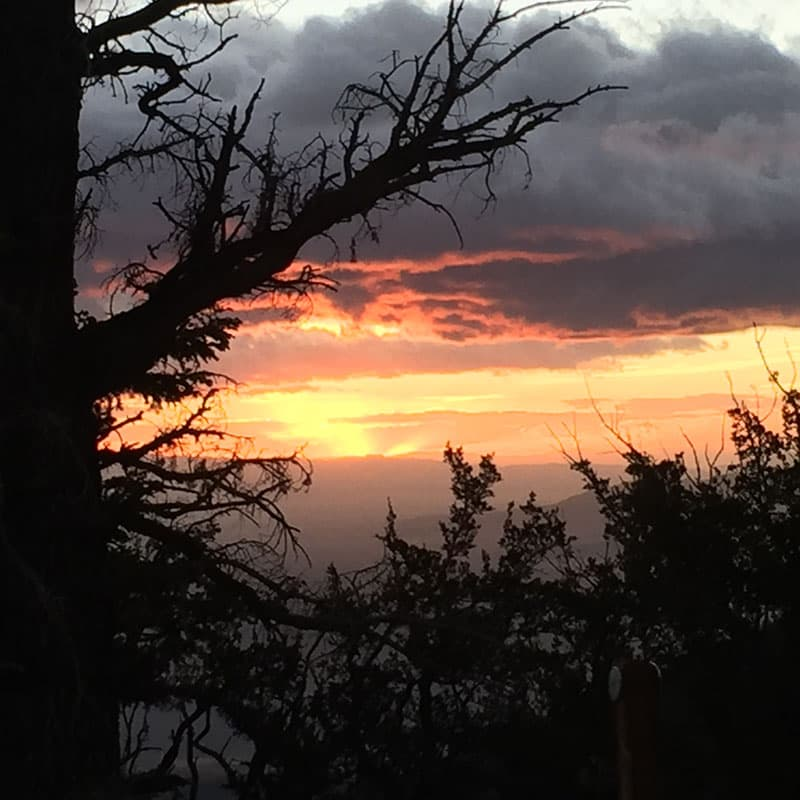 Sunrise From Wheeler Peak