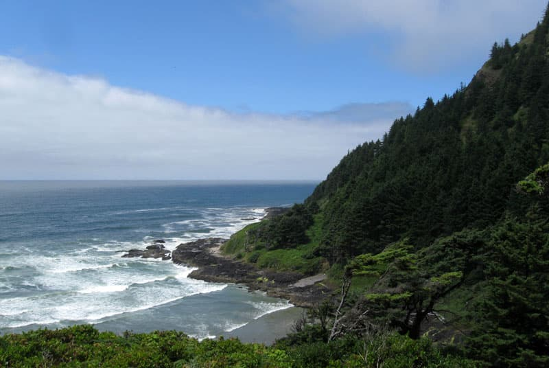 Sutton Creek Campground, Oregon coast