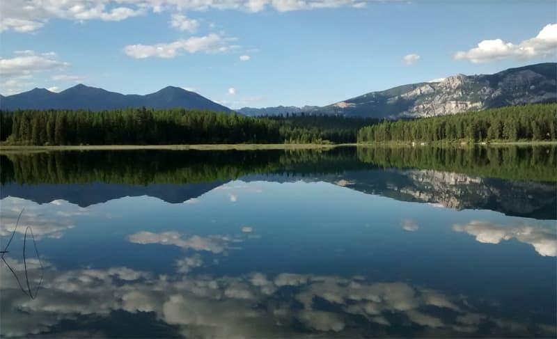 Suzanne Lake near Fernie, Canada