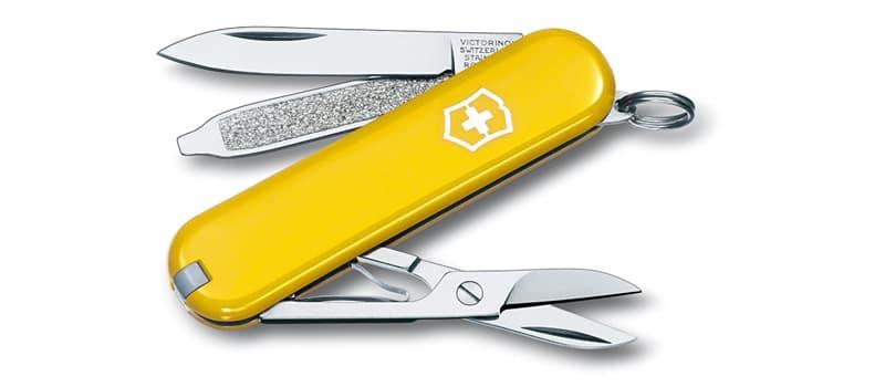 Swiss Army Knife Yellow