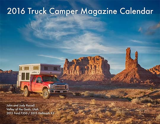 2016 Calendar Ready Cover Russell