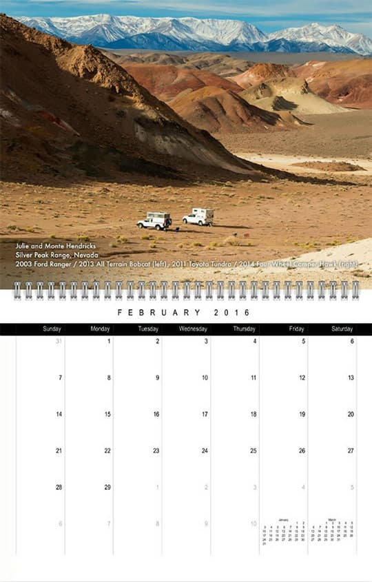 2016 Calendar Ready Feb Hendricks