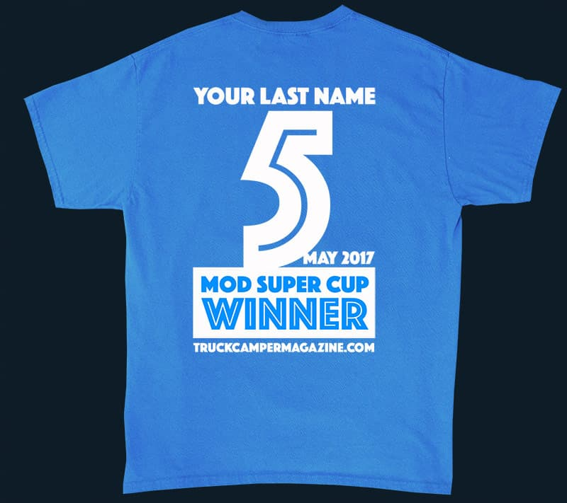 Super Cup Modification T-shirt