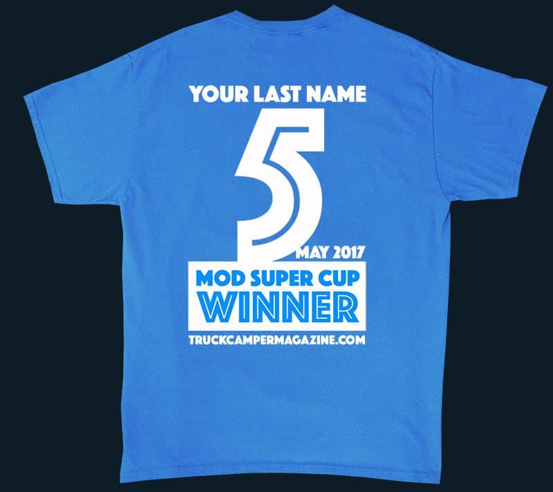 Super Cup Modification T-shirt