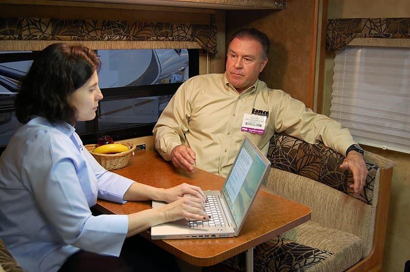 Angela Interviews Jack Cole Lance Campers