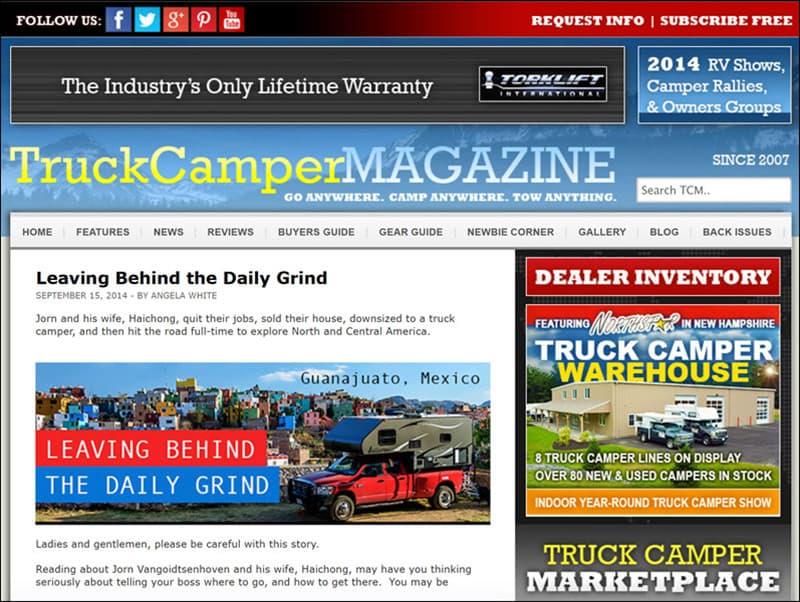 TCM Blue Website