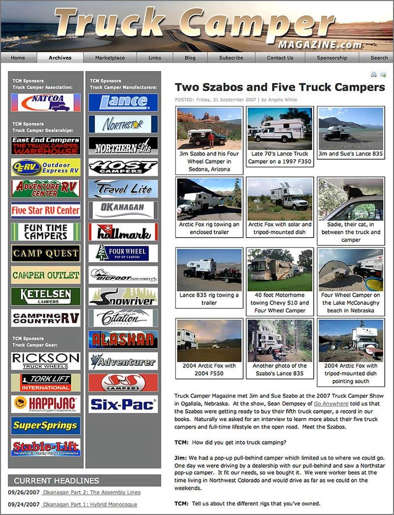 First TCM Website
