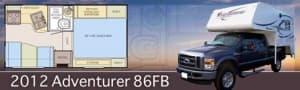 Adventurer 86FB Camper