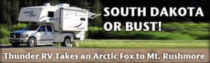 Arctic Fox 1160 Camper to South Dakota