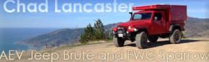 AEV Jeep Brute FWC Camper