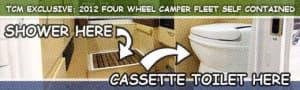 Four Wheel Camper Fleet