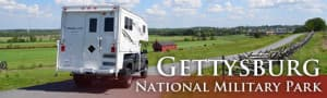 Gettysburg National Park Pennsylvania