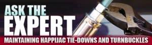 Happijac turnbuckles and tie-downs