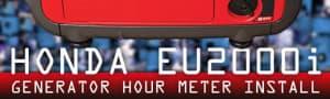 Honda Generator Hour Meter Installation