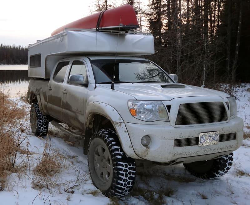 Toyota Tacoma and Phoenix Camper