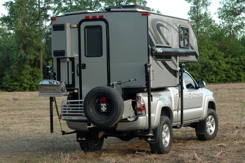 Tacoma spare tire mount