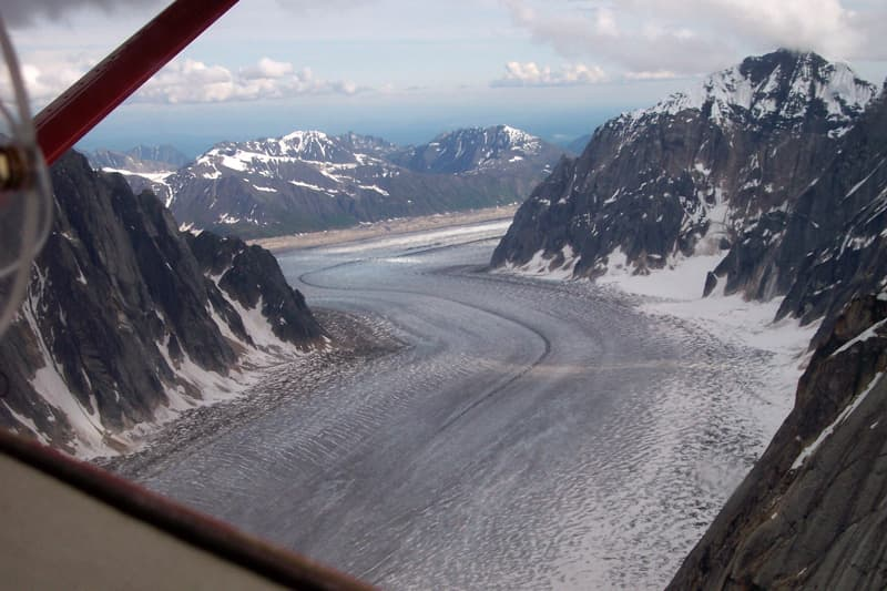 Talkeetna, Alaska flight seeing tour