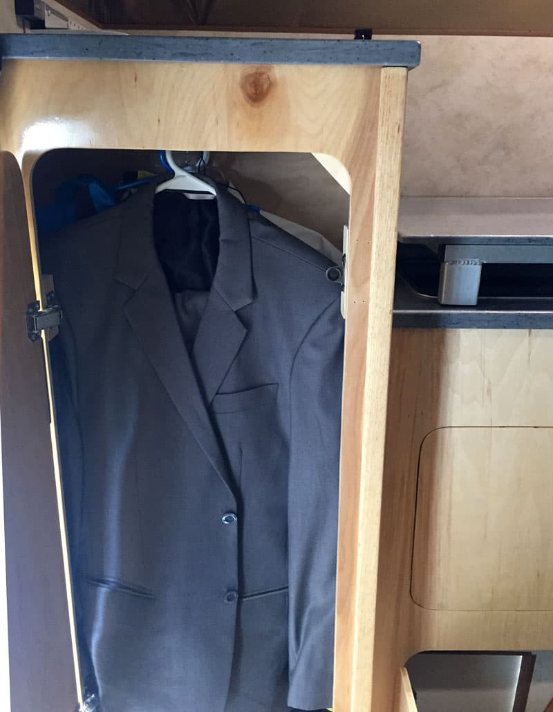 Tall Closet For Hanging Formal Clothing