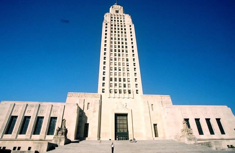 Tallest Capitol Building Louisana