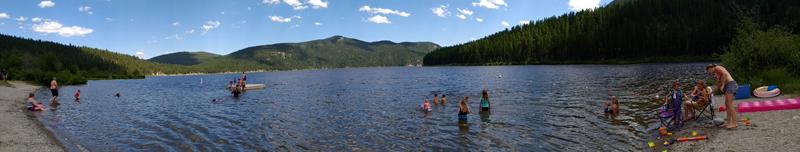 Tally Lake in Montana