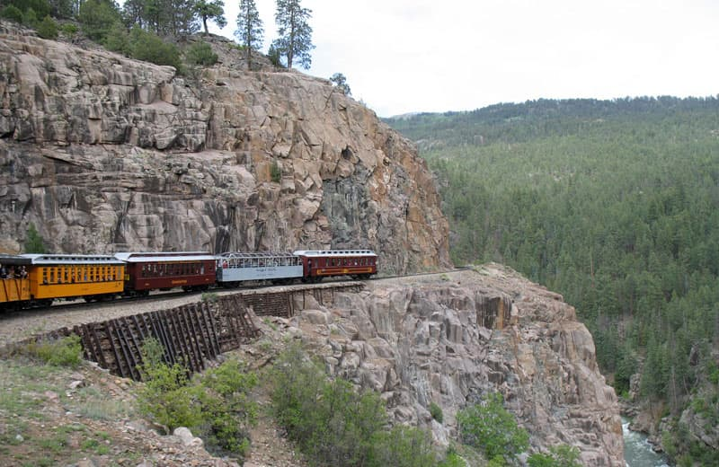 Durango-Silverton steam train