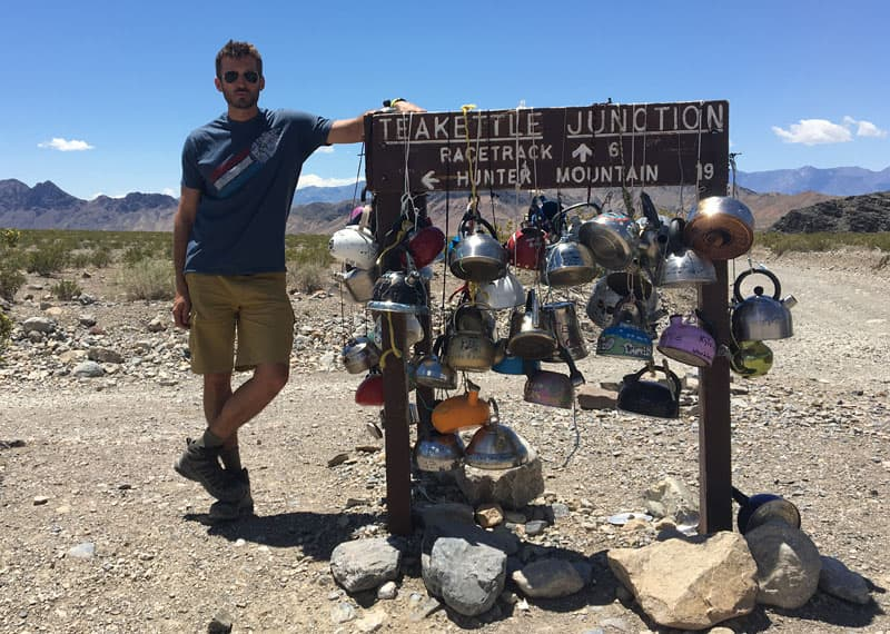 Teakettle Junction, Death Valley