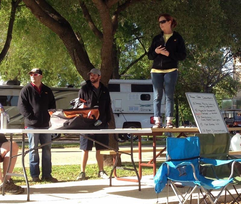 Tech Talk at Texas Rally