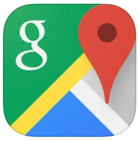 google-map-app-phone