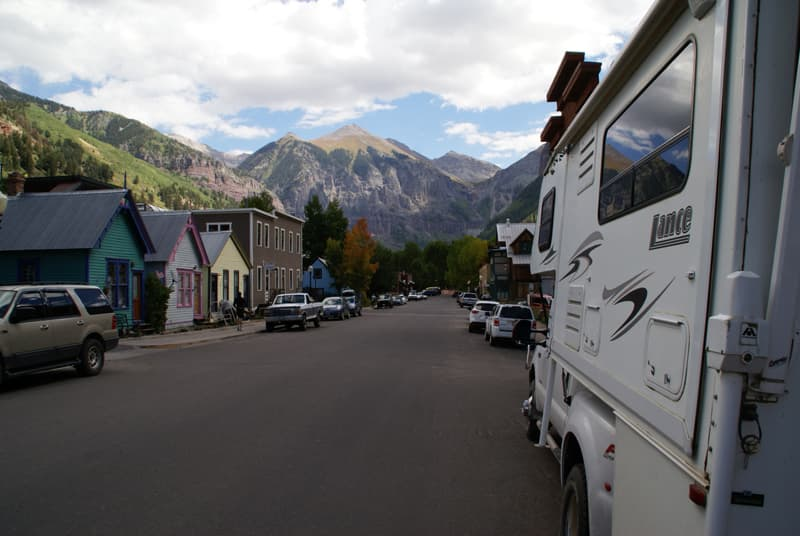 Parking in Telluride, Colorado