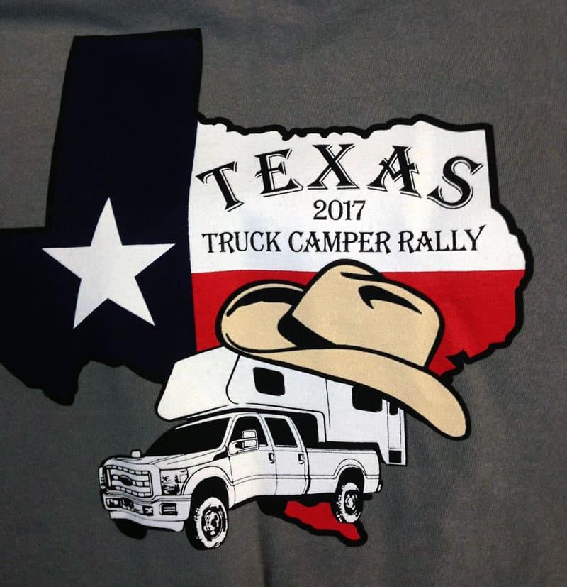 Texas Rally t-shirt