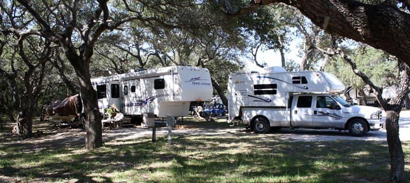 Bay View RV Park, Rockport-Fulton Texas
