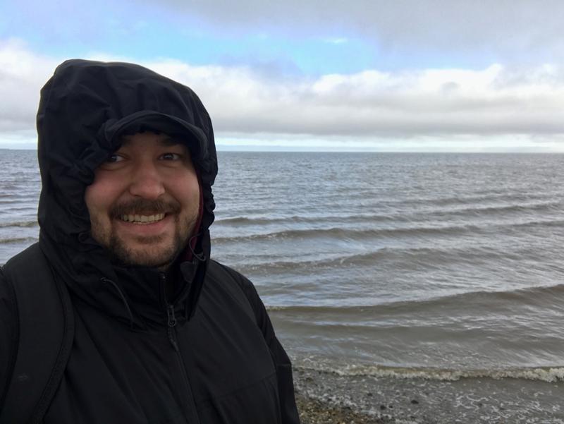 The Arctic Ocean, Deadhorse, Alaska