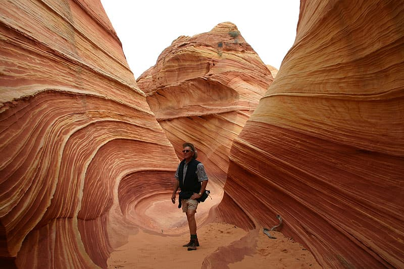 The Wave hike in Utah